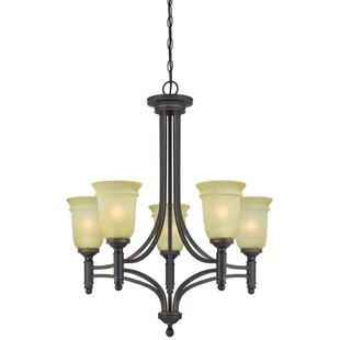 Westinghouse Lighting Montrose 5-Light Shaded Chandelier