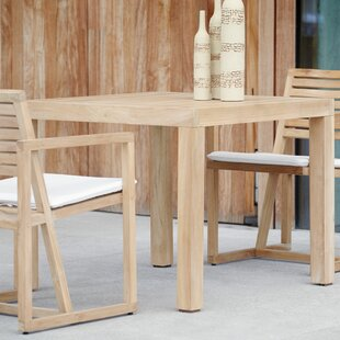 Willett Teak Bistro Table By JanKurtz