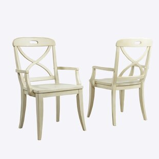 Panama Jack Home Millbrook X-Back Solid Wood Dining Chair (Set of 2)