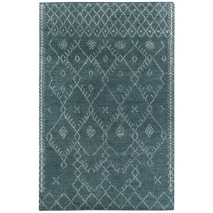 Fortress Blue Diamond Area Rug
