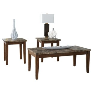 Fleur De Lis Living Anadarko 3 Piece Coffee Table Set