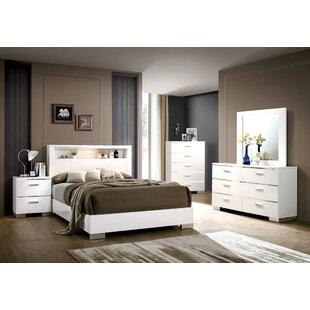 Ricka Panel Configurable Bedroom Set
