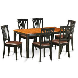 Pillar 7 Piece Dining Set with Rectangula..