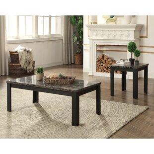 Calla 2 Piece Coffee Table Set