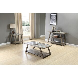 Howington 3 Piece Coffee Table Set