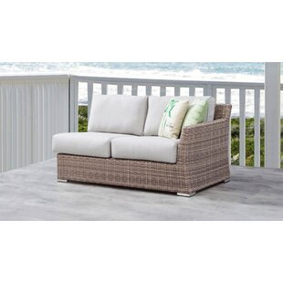 Searle Left Arm Olefin Patio Sectional with Cushions by Ivy Bronx