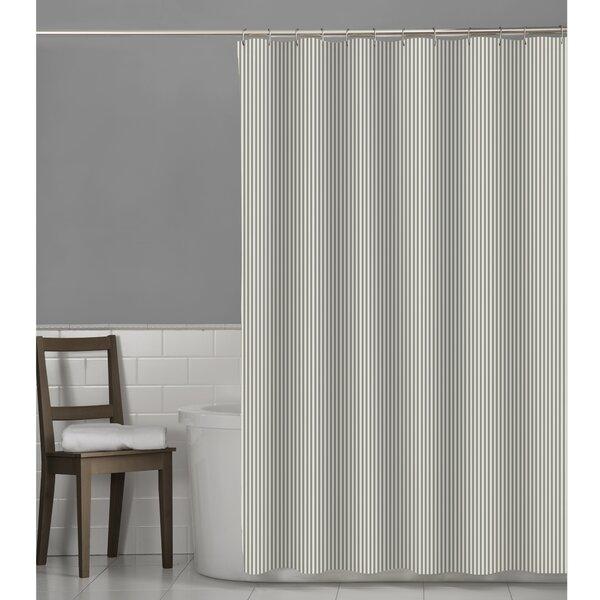 Maytex Seersucker Stripe Shower Curtain & Reviews | Wayfair