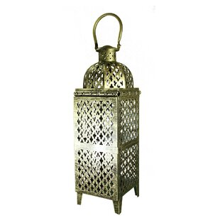World Menagerie Metal Lantern