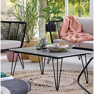 Royst Steel and Cement Coffee Table
