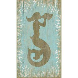 Wooden Mermaid Wall Art vintage signs wood mermaid wall artsuzanne nicoll graphic art