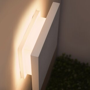 Mahpee 1-Light Outdoor Flush Mount (Set of 12) By Brayden Studio Outdoor Lighting