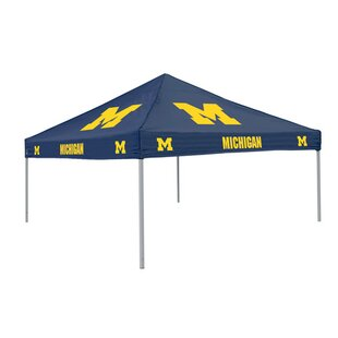 Collegiate 9 Ft. W x 9 Ft. D Steel Pop-Up Canopy - Michigan by Logo Brands