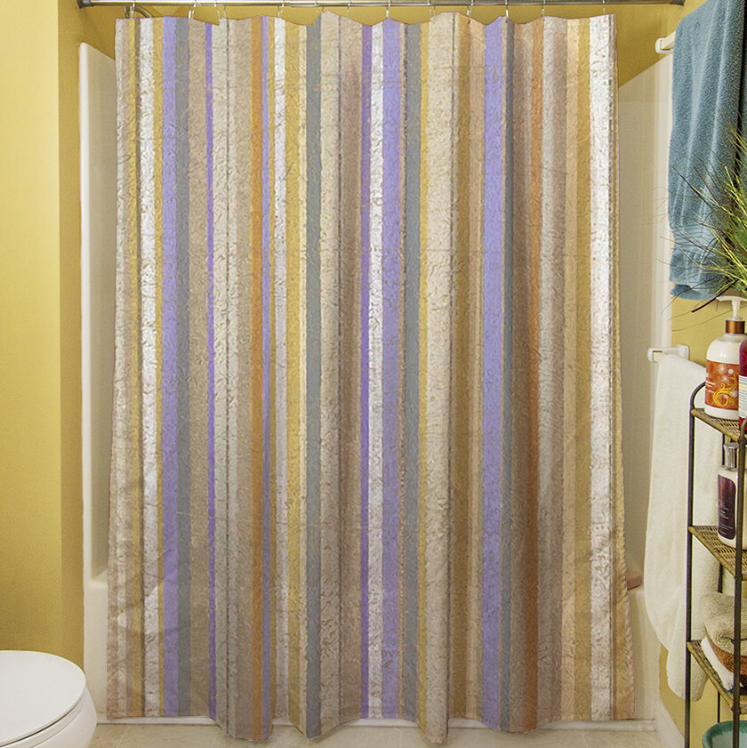 Manual Woodworkers Weavers Plum Scene II Shower Curtain