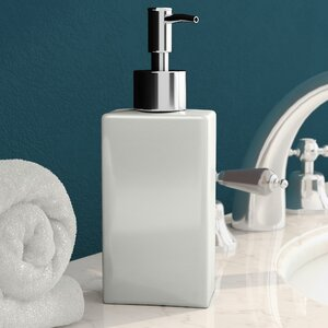 Armaz Ceramic Square Soap Dispenser