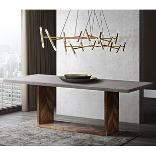 Iraan Dining Table by Orren Ellis Great Reviews