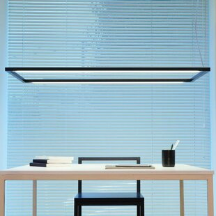Boulanger LED Square/Rectangle Pendant by Orren Ellis