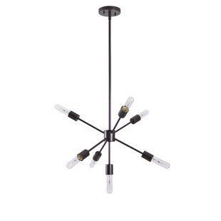 Wrought Studio Gunner 7-Light Sputnik Chandelier
