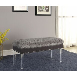 Carlton Upholstered Storage Bench by Rosdorf Park