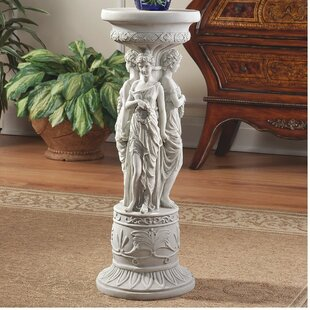 Chatsworth Manor Neoclassical Pedestal Plant Stand by Design Toscano