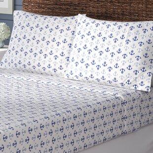 Beachcrest Home Blaire 200 Thread Count 100% Cotton Sheet Set
