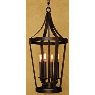 Laura Lee Designs Boston 4-Light Outdoor Hanging Lantern