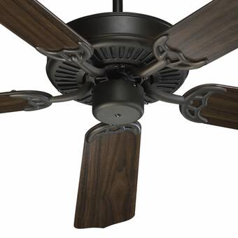 Winston Porter 52 Godbold 5 Blade Standard Ceiling Fan With Pull Chain Reviews Wayfair