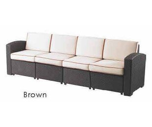 Brayden Studio Loggins Sofa with Cushions