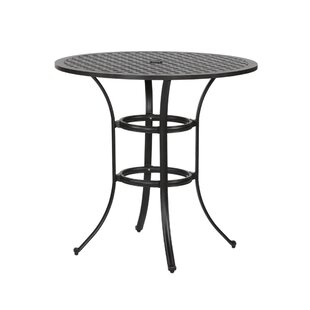 Three Posts Lehmann Round Bar Table