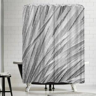 Murray Bolesta Agave Abstract Single Shower Curtain