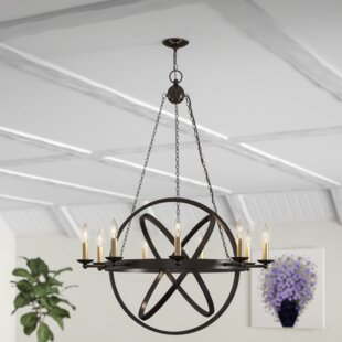 Ingalls Western Bronze 9-Light Chandelier by Laurel Foundry Modern Farmhouse