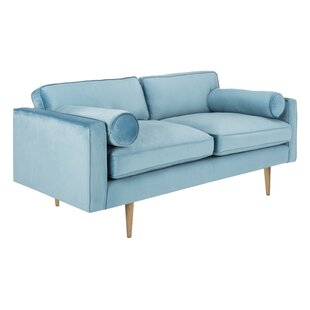 Lambright Velvet Sofa by Mercer41