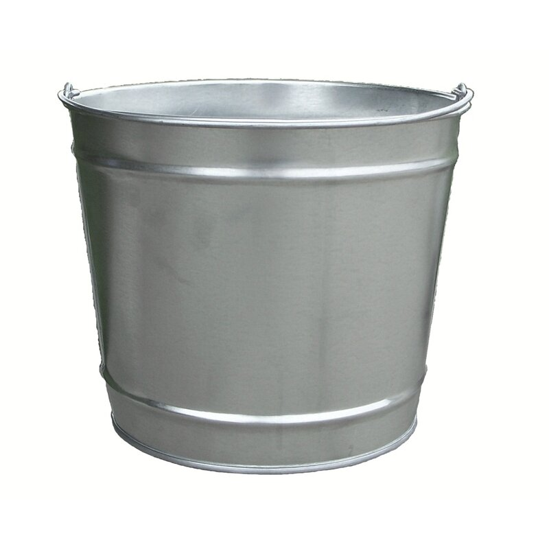 Symple Stuff Freitas Metal Bucket Wayfair