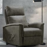 Angellie Faux Leather Power Lift Assist Recliner by Red Barrel Studio®