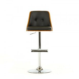 Lipscomb Adjustable Height Swivel Bar Stool by Brayden Studio