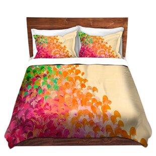 Ebern Designs Sickler Julia Di Sano Creation in Color Autumn Infusion Microfiber Duvet Covers