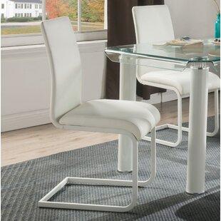Len Upholstered Dining Chair (Set Of 2) By Orren Ellis