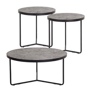 Mullinax 3 Piece Coffee Table Set