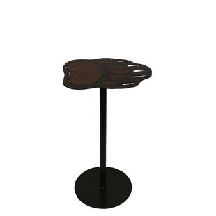 Norah Iron Bear Paw Pub Table by Millwood Pines