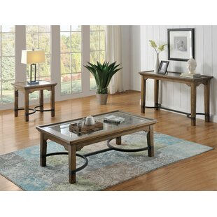 Wooster 3 Piece Coffee Table Set