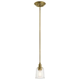 August Grove Marseilles 1-Light Bell Pendant