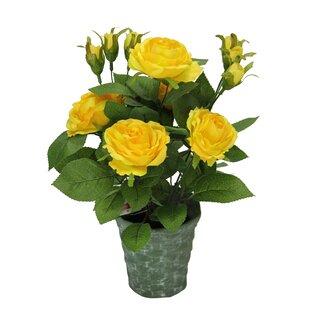 artificial outdoor flowers | wayfair