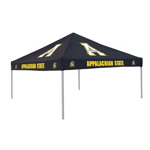 Collegiate 9 Ft. W x 9 Ft. D Steel Pop-Up Canopy - Appalachian State by Logo Brands