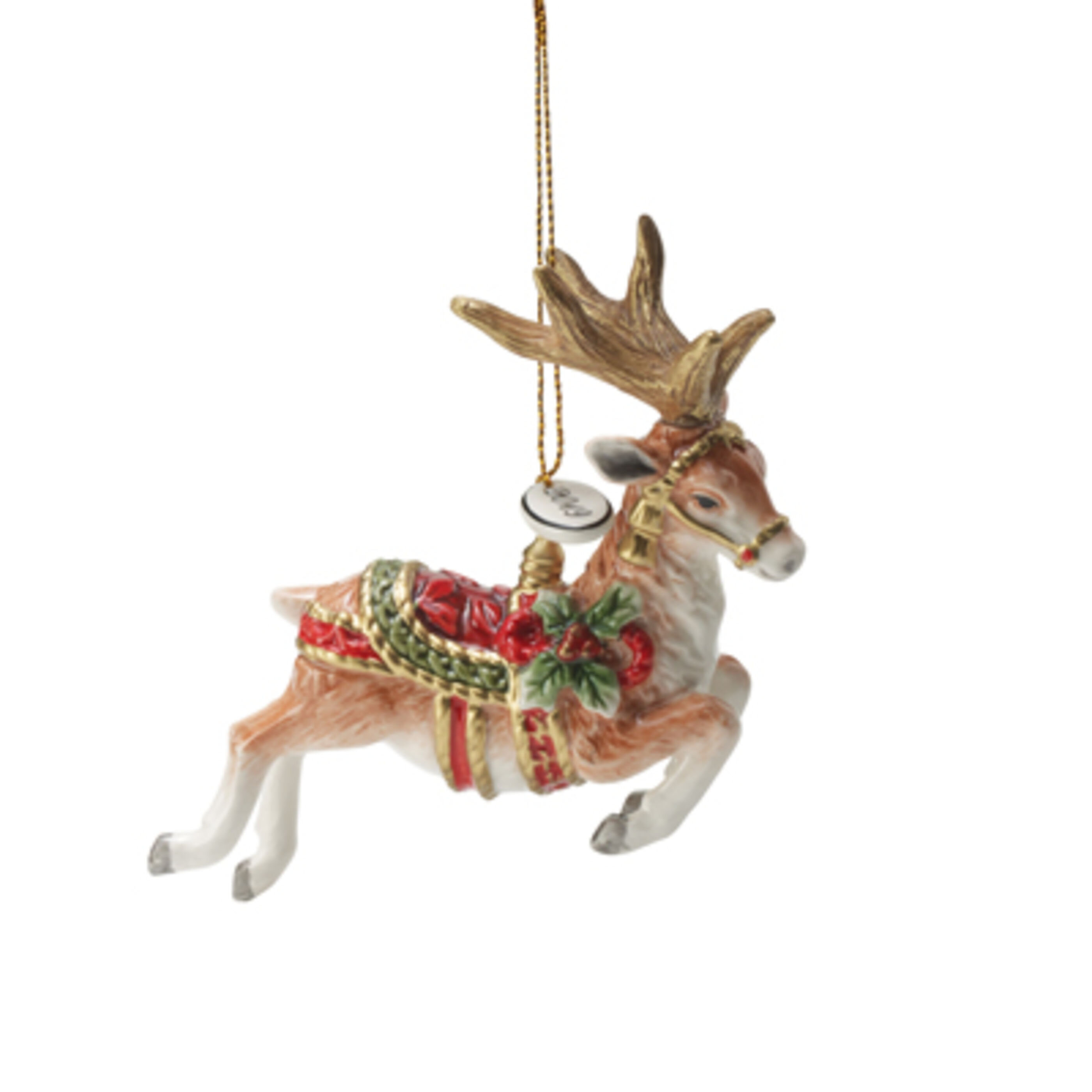 Fitz And Floyd Holiday Home Dated 2020 Hanging Figurine Ornament Reviews Wayfair