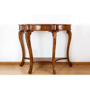 Review French Style Cabriole Console Table By The Silver Teak