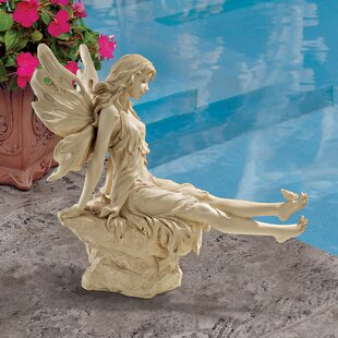 Twinkle Toes Fairy Garden Statue By Design Toscano