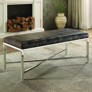 Orren Ellis Alyssa Metal Bench