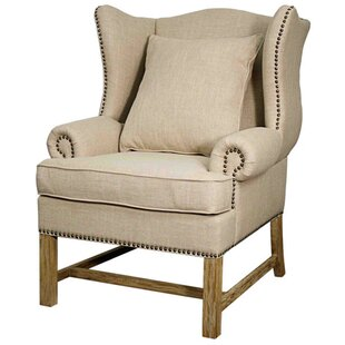 Darby Home Co Felty Wingback Chair
