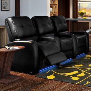 Latitude Run Large Home Theater Row Seating (Row of 3)