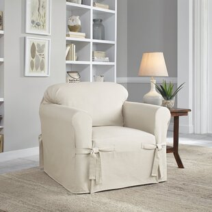 Serta Relaxed Fit Duck Furniture Box Cushion 3 Piece Slipcover Set by Serta