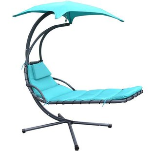 Alvin Hanging Chaise Lounger with Stand